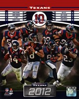 Houston Texans 2012 Team Composite Fine Art Print