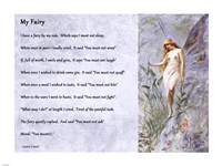 My Fairy by Lewis Carroll - horizontal - various sizes