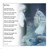My Fairy by Lewis Carroll - various sizes