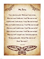 My Fairy by Lewis Carroll - tall - various sizes