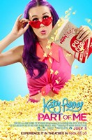 Katy Perry: Part of Me 3D - popcorn Wall Poster