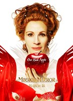 Mirror Mirror Julia Roberts Wall Poster