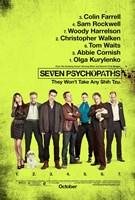 "Seven Psychopaths B - 11"" x 17"""