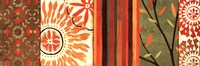 """Abstract Nature IV by Veronique Charron - 36"""" x 12"""""""