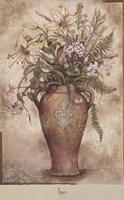 FRESCO FLORAL I Fine Art Print