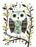 Night Owl I Fine Art Print