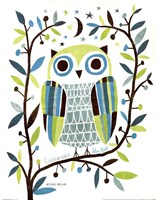 Night Owl II Fine Art Print