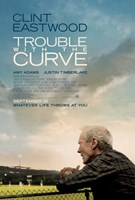 Trouble with the Curve Wall Poster
