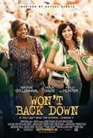 Won't Back Down Wall Poster