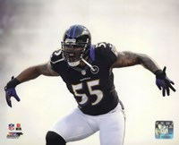 Terrell Suggs 2012 Action Fine Art Print