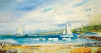 Seaside Harbor I Fine Art Print