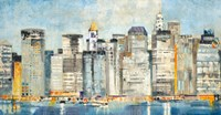 Waterfront Skyline Fine Art Print