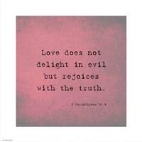 1 Corinthians 13:6 - various sizes - $12.99
