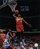 Dominique Wilkins 1993 Action Framed Print