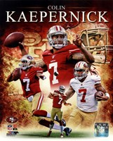 Colin Kaepernick 2012 Portrait Plus Fine Art Print