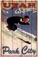 Ski Park City Fine Art Print