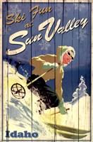 Ski Sun Valley Fine Art Print