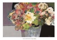 """Flower Market by Leslie Bernsen - 39"""" x 28"""""""