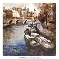 """Notre-Dame, Paris by Marti Bofarull - 20"""" x 20"""""""