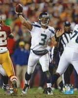 Russell Wilson 2012 Playoff Action Fine Art Print