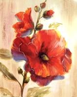 Flourescent Blooms II Fine Art Print