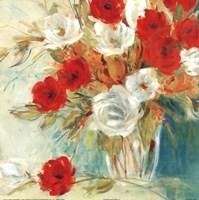 Vibrant Bouquet II Framed Print