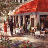 Cafe Afternoon II Fine Art Print