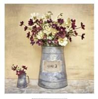 "Plum Daisies by Cristin Atria - 20"" x 20"""