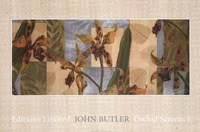 "Orchid Screens I by John Butler - 36"" x 24"" - $23.49"
