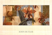 "Orchid Screens II by John Butler - 36"" x 24"" - $23.49"