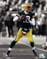 Aaron Rodgers 2012 Spotlight Action Fine Art Print