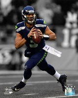 Russell Wilson 2012 Spotlight Action Fine Art Print