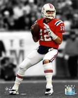 Tom Brady 2012 Spotlight Action Framed Print