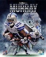 DeMarco Murray 2013 Portrait Plus Fine Art Print