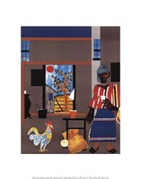 Morning of the Rooster, 1980 Fine Art Print