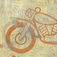 Motorcycle I Framed Print