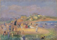 Good Harbor Beach, 1919 Fine Art Print