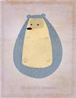 "The Hirsute Hedgehog by John W. Golden - 11"" x 14"""