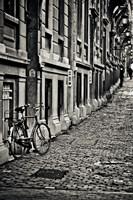 Cobblestone Streets Fine Art Print