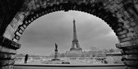 Paris, Under the Bridge Fine Art Print