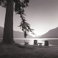Crescent Lake I Fine Art Print