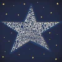 Twinkle, Twinkle Little Star Framed Print