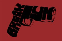 Gun from Brooklyn Fine Art Print