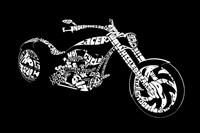 Custom Chopper Fine Art Print