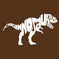 Tyranosaurus Rex Framed Print