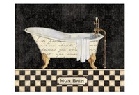 French Bathtub I Fine Art Print