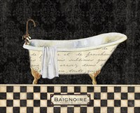 French Bathtub II Fine Art Print