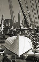 Lifeboat and San Francisco Skyline Fine Art Print