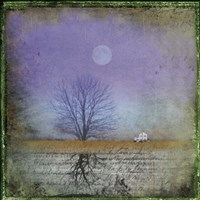 Moonlight in Vermont Fine Art Print