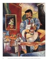 RESTAURANTE PALIO ROSSO Fine Art Print